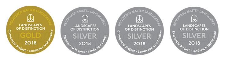Medals 2018 LOD BARK LTD